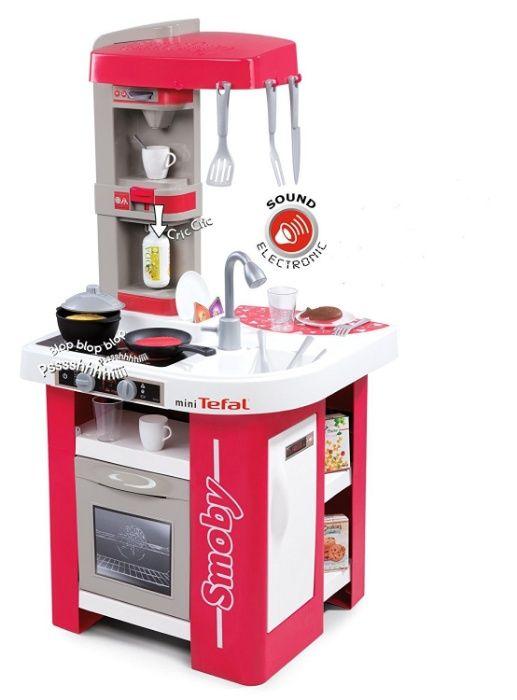 БЕСПЛ.ДОСТАВКА Интерактивная детская кухня Tefal Studio Smoby 311022