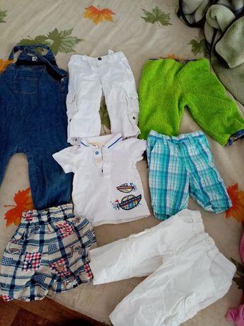 Пакет одежды штаны комбенизон шорты футболки