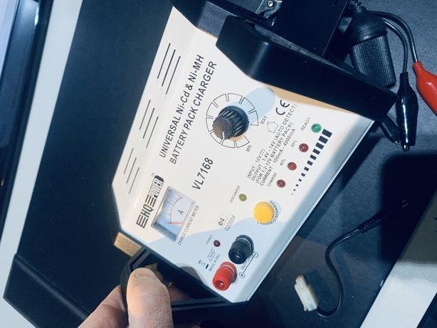 Carregador baterias automático Ni-Cd/Ni-Mh