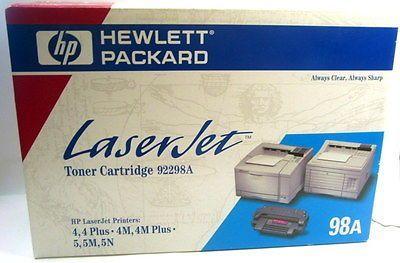 Toner Preto HP LaserJet 98A Original(92298A)