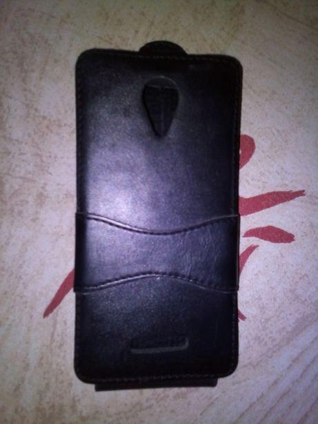 Кожаный чехол на смартфон 5,5 дюймов
