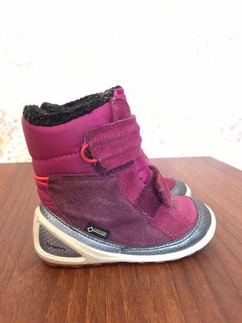 Зимові чобітки Ecco biom на дівчинку, 22 розмір