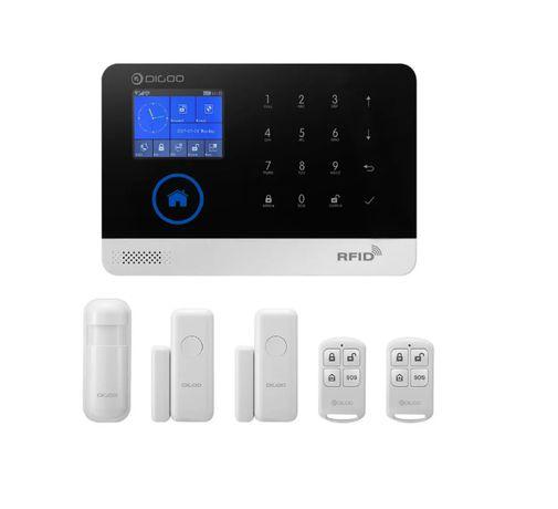 Sistema de Alarme sem fios WIFI GSM 3G c/app Android IOS [NOVO]