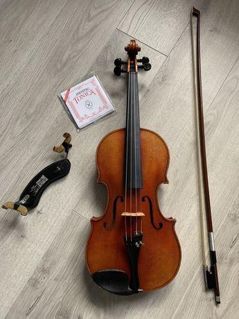 Stare skrzypce  4/4 caly zestaw