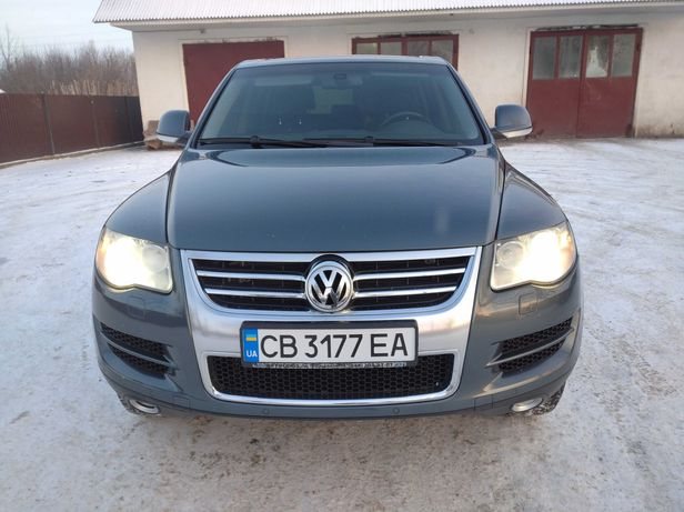 Volkswagen Touareg Official
