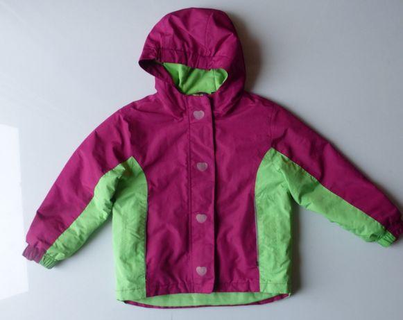Kurtka narciarska dla dziecka sanki zimowa LUPILU dziewczynka 110 116