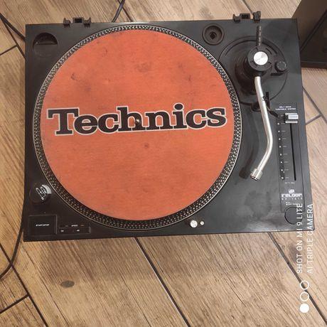 Sprzęt DJ'ski Technics Reloop RP-1010 i odtwarzacz Hollywood DJ-X5