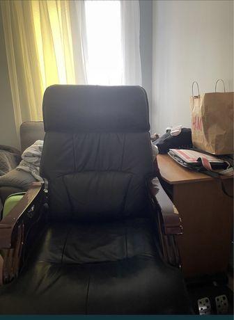 Fotel biurowy na kółkach fotel czarny krzesło