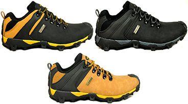 Męskie Trekkingowe Półbuty z membraną BADOXX 3 kolory r.41-46