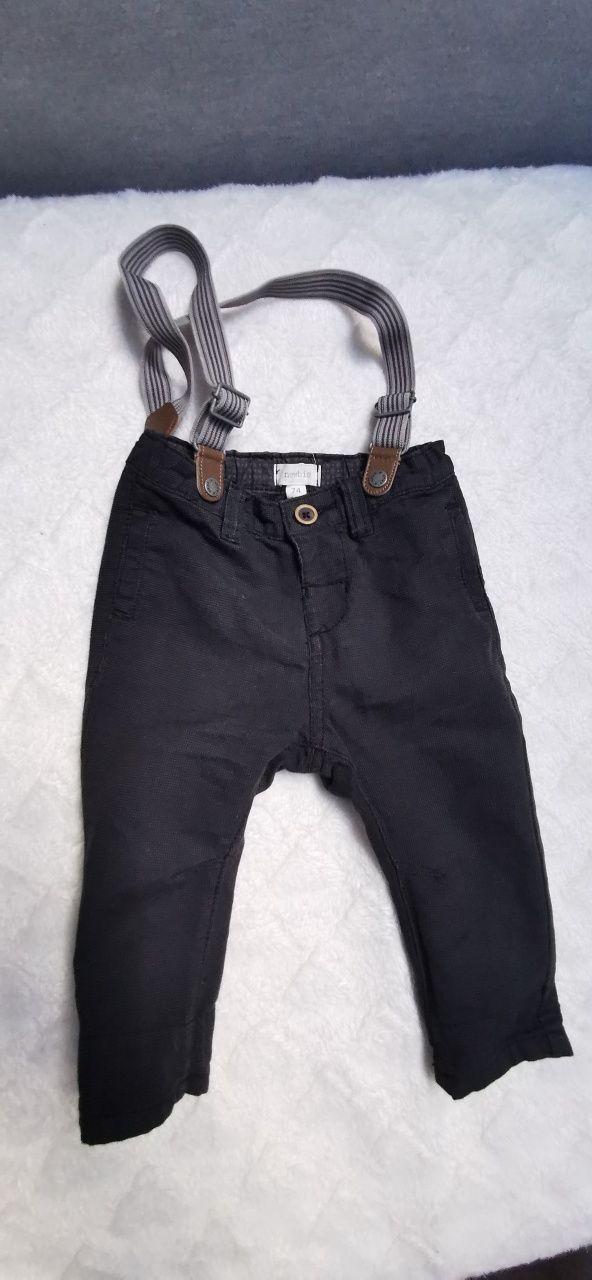 Spodnie i leginsy chłopięce.