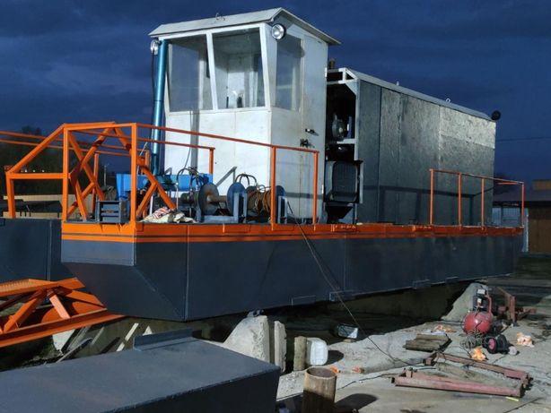 Земснаряд DRW 400/40, дизельный фрезерный б/у