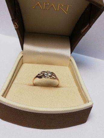 Złoty pierścionek rose gold pr.585/1g/r.17 Lombard Zeus