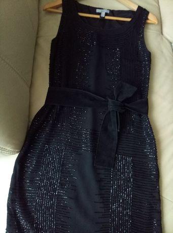 Цена снижена! Вечернее чёрное платье MANGO 42-44 размера