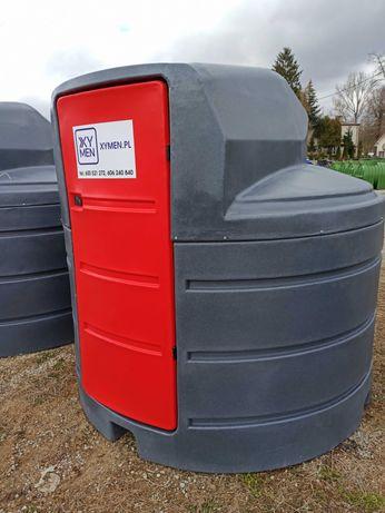 Zbiornik ON ropa paliwo - 2500L, wyposażenie dobierane indywidualnie!