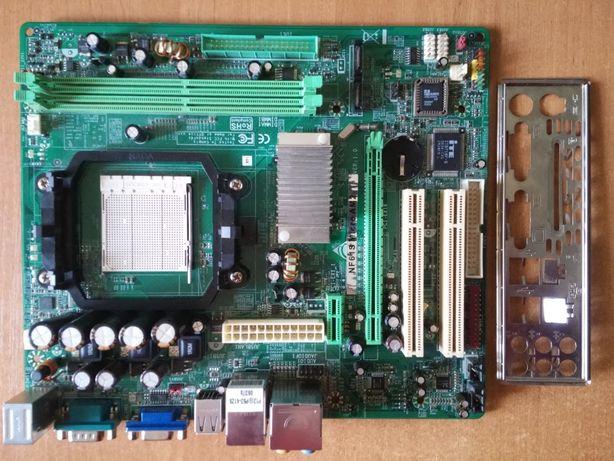 Материнская плата Biostar NF61S Micro AM2 (DDR2, int. Video)