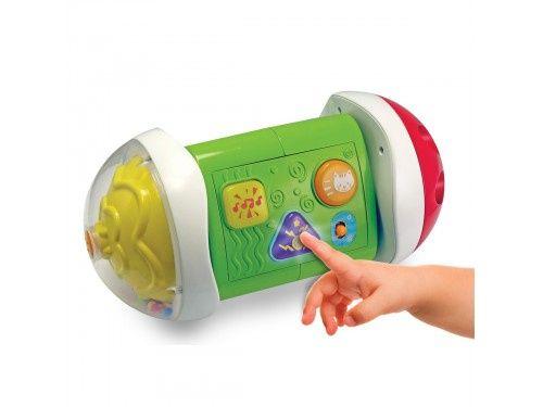 Smily Play Roller, Domek, Kula 3 w 1, zabawka do raczkowania