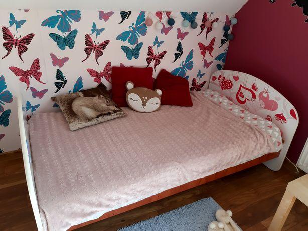 Łóżko dla dziewczynki  90/180
