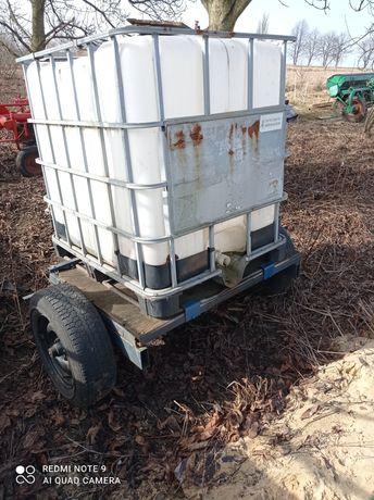 Obsypnik do ziemniaków ,Zbiornik na wodę z przyczepą