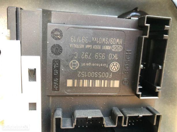 Elevador Com  Motor 1k0 959 792 C  VW GOLF 5 2004 5P FD