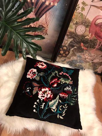 Piękna poduszka w kwiaty - dwustronna