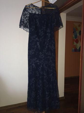 Нарядное платье брендовое оригинал Polo Ralph Laurent ажурное платье