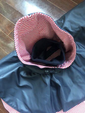 Capa da chuva para cão