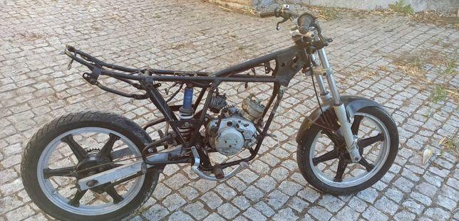 Quadro + motor macal
