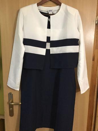 Sukienka z bolerkiem 44