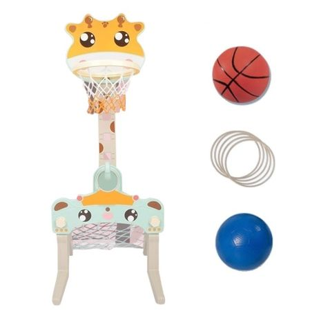 Plac zabaw dla dziecka 3w1 - koszykówka, bramka, rzutki - 3 modele