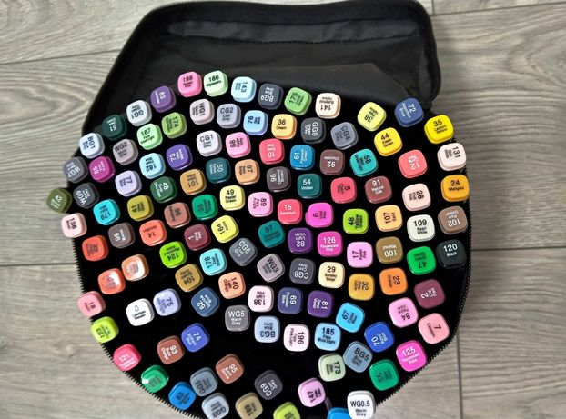 Touch  120 шт маркеры для скетчинга фломастери в сумке Оригинал