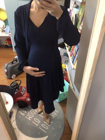 Sukienka ciążowa Anna Field mama 38 elegancka zwiewna gratis