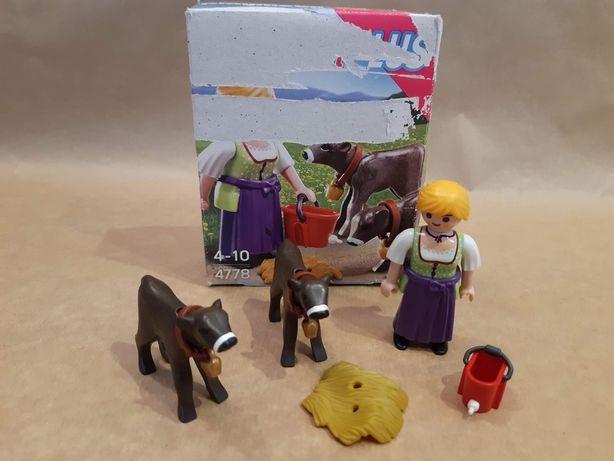 Playmobil 4778 Gospodyni z cielakami