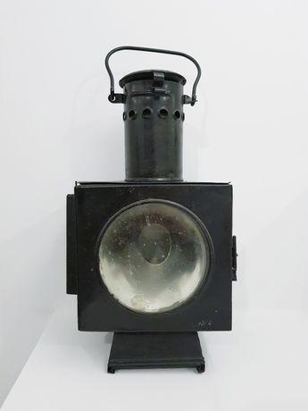 Lampa kolejowa naftowa zwrotnicowa PKP prl loft