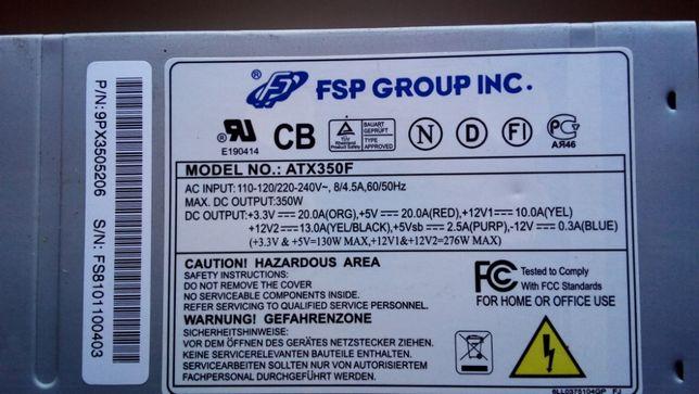 Блок питания FSP GROUP INC ATX350F