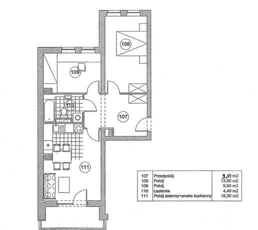 Mieszkanie 3 pokoje, 55 m2 Poznań centrum, Wilda  Nowa niższa cena!