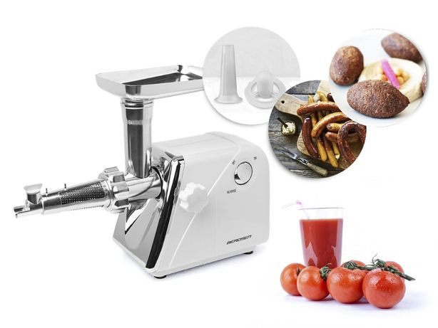 Elektryczna maszynka do mięsa przecierania pomidorów tarcia ziemniaków