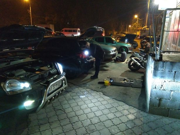Автосвет, установка ксенона, LED, замена ламп, блоков, штатный xenon.