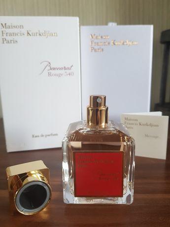 Baccarat Rouge 540 Maison Francis Kurkdjian. Нишевые, очень стойкие