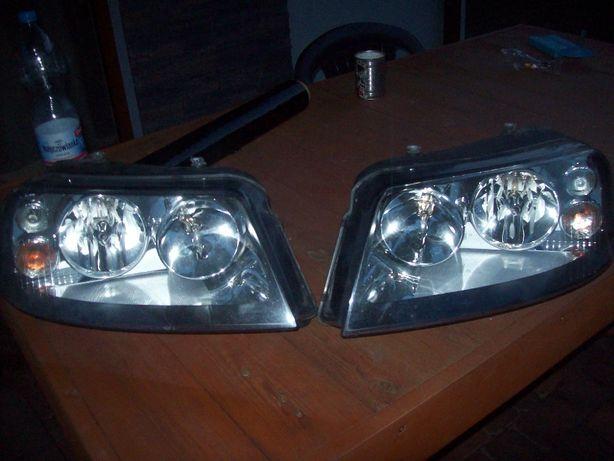 VW Sharan Alhambra MK1 Lift Lampy Przód Czarne