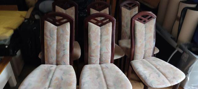 6 krzeseł komplet...