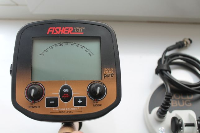 Металлоискатель Fisher Gold Bug PRO