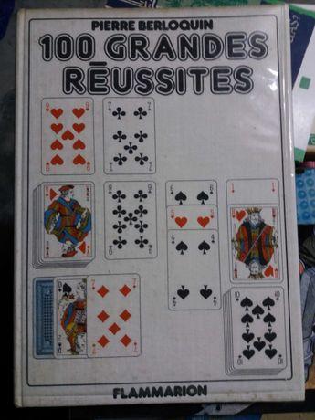 """Livro de jogos de cartas """"100 grandes reussites"""""""