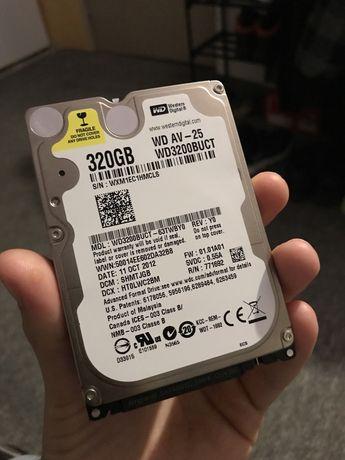 """Dysk twardy WD 320GB 2,5'"""" HDD Sata"""
