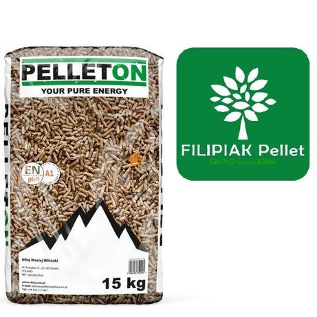 Pelet PELLETON Certyfikowany A1 EN plus - 6 mm Filipiak Pellet