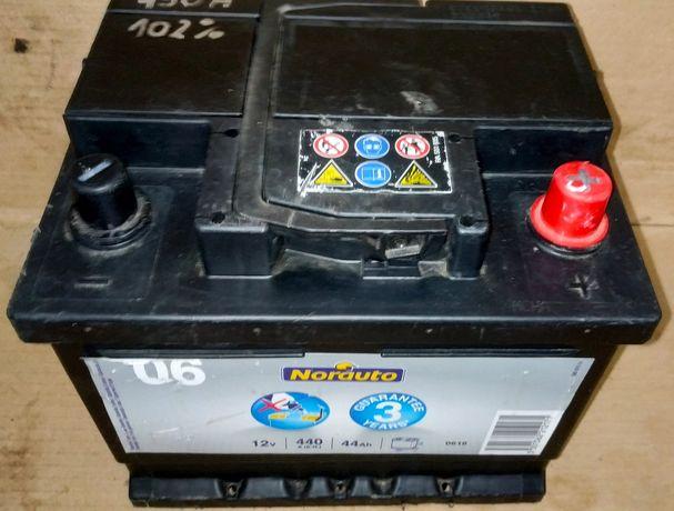 Akumulator Norauto 44Ah 440A z Niemiec