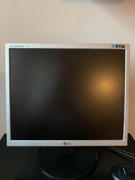 Monitor LG FLATRON LCD, 17 Cali