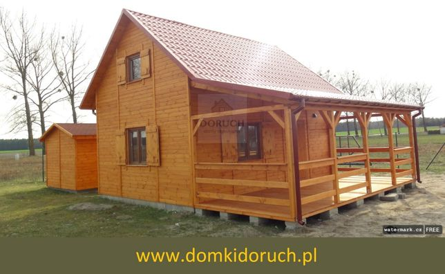 Domki drewniane na działkę 35m2 bez pozwolenia, domki mazowieckie