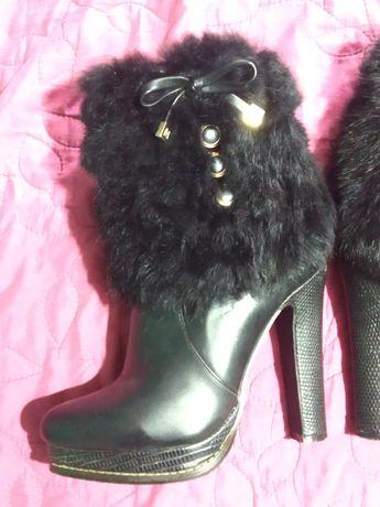 Чоботи, зимові чобітки