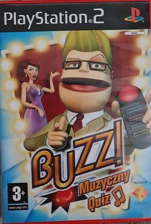 Gra _ Buzz! Muzyczny Quiz / dubbing PL / PS2 / PAL