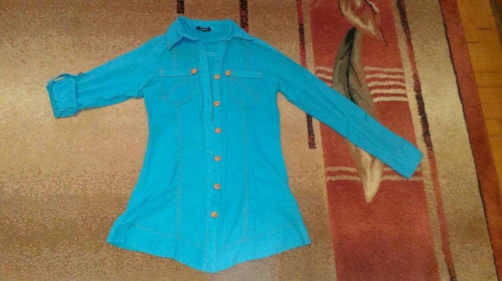 Продам женскую рубашку-тунику Подгорное - изображение 1